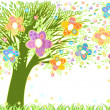 Stock Vector: easter tree&quot
