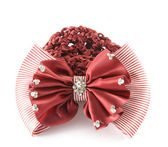 Red barrette — Stock Photo