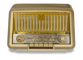 Very Old Radio. Vintage radio — Stock Photo