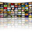 Television production concept. TV movie panels — Stock Photo #4925513
