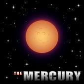 Cartoon Mercury — Stock Vector