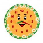 玩具时钟 — 图库矢量图片