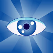 Abstract eye — Stock Vector
