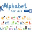 Alphabet for children - Stock Vector