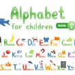 Alphabet for children — Stock Vector #5325718