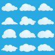 Clouds — Stock Vector #4232591