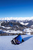 Panorama of Italian Dolomites — Stock Photo