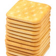 Saltine crackers — Stock Photo