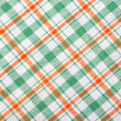 Checkered textile background — Stock Photo