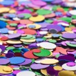 Background of multicolored confetti - Stock Photo