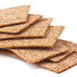 Rye crispbread - Stock Photo