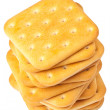 Stock Photo: Saltine crackers