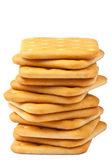 Saltine crackers — Stock Photo