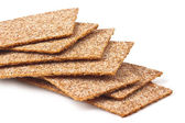Rye crispbread — Stock Photo