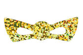 Yellow masquerade mask — Stock Photo