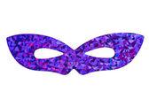 Fioletowy maskarady maski — Zdjęcie stockowe