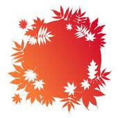 Autumnal leaves — Stockvektor