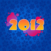 Background for new year — Stock Vector