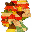 German provinces — Stock Photo