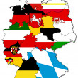 German provinces - Stock Photo