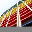 Colorful building under blue sky — Stock Photo