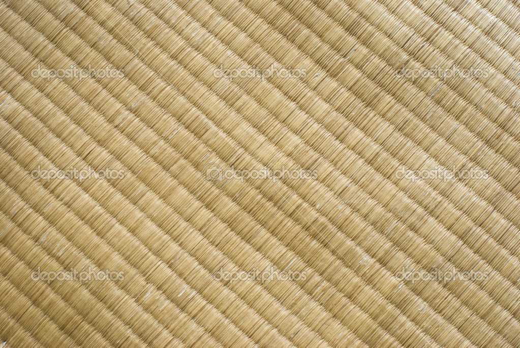 Tatami texture. Traditional Japanese culture. It made up by straw. — Stock Photo #4005513