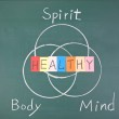 Healthy concept, Spirit, Body and Mind — Stock Photo