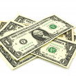Stock Photo: Dollar bills