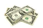 Billets d'un dollar — Photo