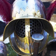 Gladiator helmet — Stock Photo