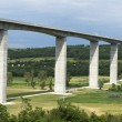 Stock Photo: Viaduct leads beneath valley