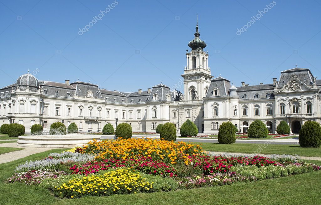 Keszthely Hungary  city photo : Festetics castle in Keszthely, Hungary — Stock Photo © pgaborphotos ...