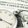 Stock Photo: The time is money
