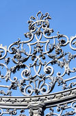 Detail from an ornamental gate — Stock Photo
