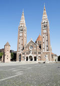 Cathedral of Szeged,Hungary — Stock Photo