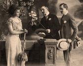 Vintage πορτρέτο, έτος 1914. — Φωτογραφία Αρχείου