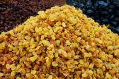 Close up of raisins — Stock Photo