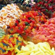 Many colorful candies — Stock Photo