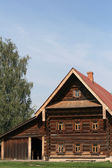 Old wooden house in Suzdal Russia — Stock Photo