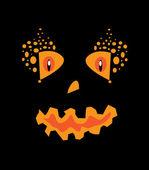 Calabaza de halloween — Vector de stock