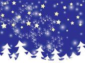 Fondo de navidad y año nuevo — Vector de stock