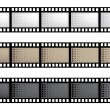 Stock Vector: Vector film strip
