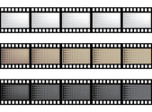 Vector film strip — Stock Vector
