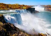 American side of Niagara Falls — Stock Photo