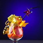 Celebratory cocktail — Stock Photo #5090739