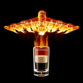 B-52 Shot cocktail — Stock Photo