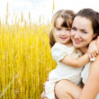 Stockfoto: Mother and daughter