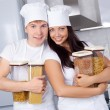 Two cooks — Stock Photo #4326741