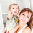 Mother and her baby — Stock Photo #4456482