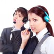 Call-center — Foto de Stock